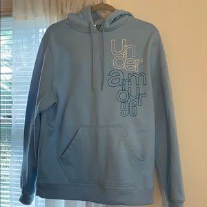 Blue under armor hoodie